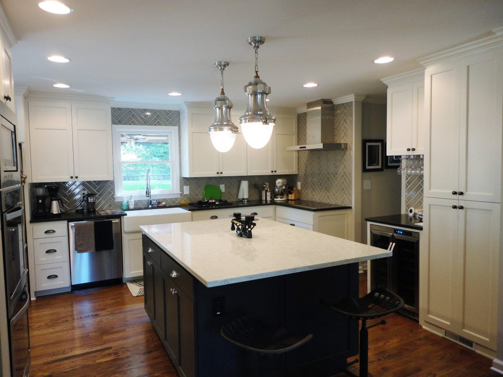 A stylish kitchen remodel from Norm Hughes homes remodeling service