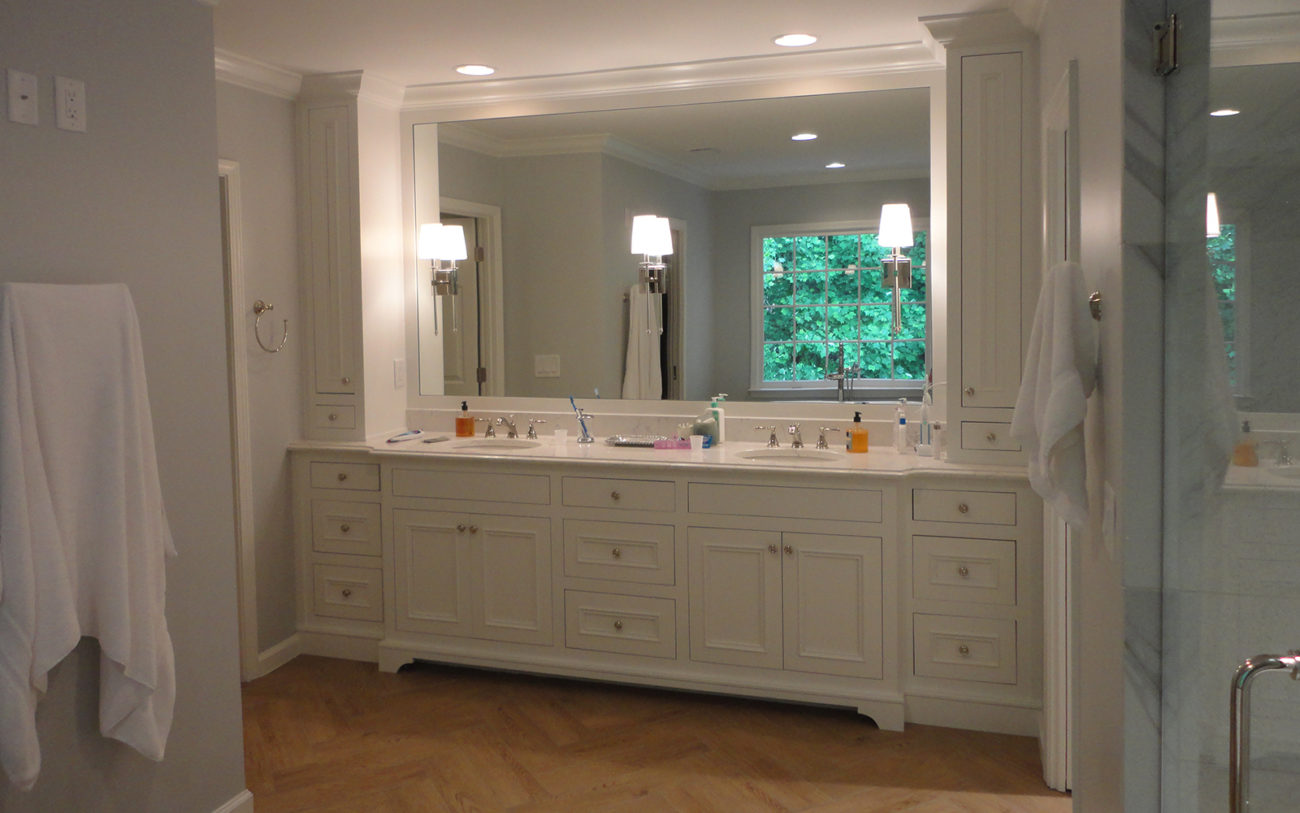 Create better flow in your master bathroom