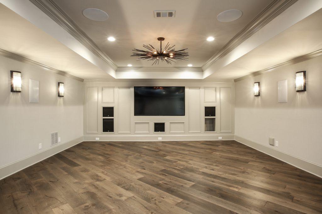 a media room addition
