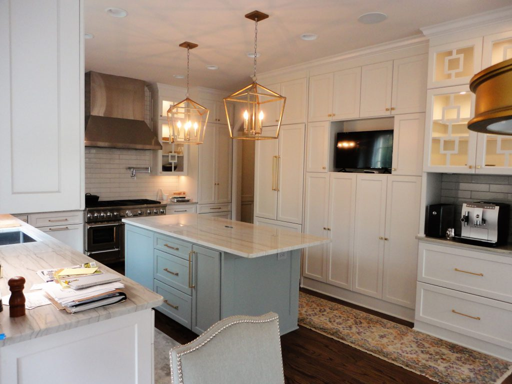 Cabinetry with integrated appliances