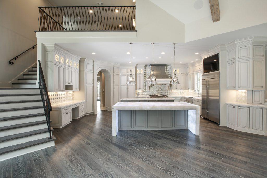 Remodeled kitchen in Alpharetta
