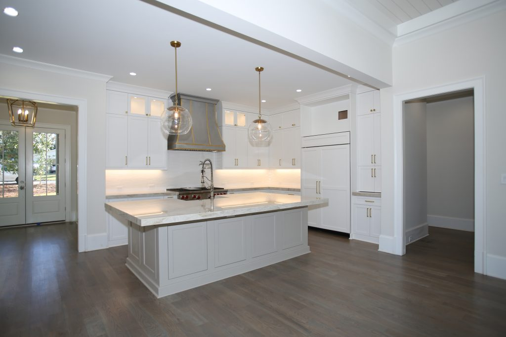 a remodeled kitchen with premium options