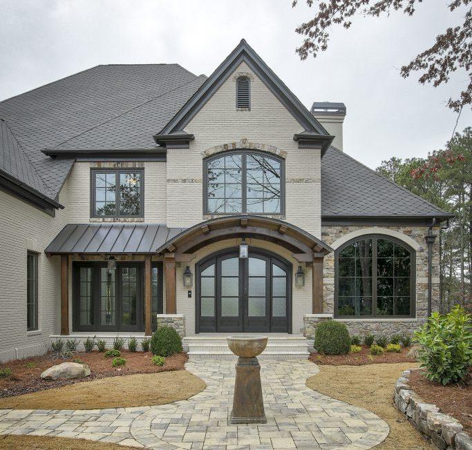 A norm hughes exterior remodel on a Georgia home